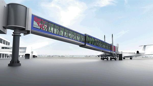 Installation of Aircraft Passenger Boarding Bridges